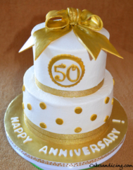 50th Anniversary Theme Cake 31