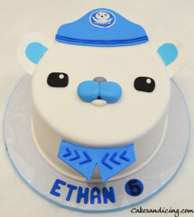 Captain Barnacles , Octonauts Theme Cake ! #captainbarnacles #octonauts #octonautscake #kidsbirthdaycake #birthdayboy #captainbarnaclescake 01