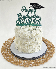 Congradulations To All The Graduates Out There!! Reedy Hs Graduates! #graduation #highschoolgraduation #graduationcake #reedyhighschool #collegebound #classof2021 01