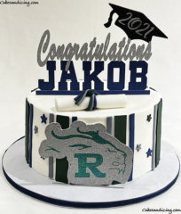 Congradulations To All The Graduates Out There!! Reedy Hs Graduates! #graduation #highschoolgraduation #graduationcake #reedyhighschool #collegebound #classof2021 03