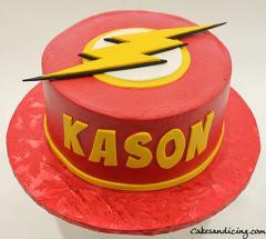 Flash Theme Cake #theflashcake #flashcake #flash