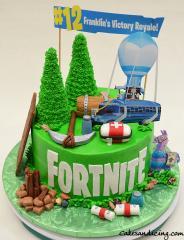 Fortnite Themed Cake #fortnite #1victoryroyale #battlebus #fortnitemedkit #fortnitechest #fortnitellama #fortnitepotionshield