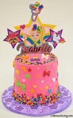 Jojo Siwa Theme Cake #jojosiwacake #jojosiwaparty #dreamcrazybigbow #bigbows #stars #eatsleepanddance #girlygirlcake 01