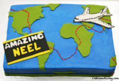 Kids Bday Amazing Race Theme Cake 01