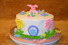 Kids Bday Easter Theme Cake 02