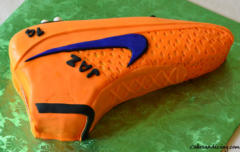 Magista Soccer Cleats Theme Cake