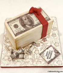 Money Money Money, Money Theme Cake #makeitrain #dollarcake #moneycake #dollarbillcake 12