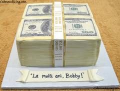 Money Money Money, $$ Theme Cake #makeitrain #dollarcake #moneycake #dollarbillcake #teenbirthdaycake 03