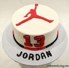 Nba Theme Cake #nbacake #jordancake #basketball #basketballcake 01