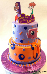 Sally Bollywood Theme Cake