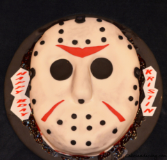 Special Ocassion Friday The 13th Theme Cake 01
