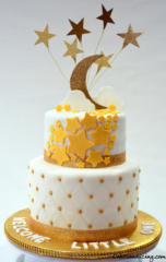 Special Ocassion Baby Shower Twinkle Twinkle Little Star Theme Cake