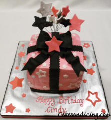 Special Occasions Bday Present Box Theme Cake 21