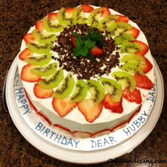 Special Occasions Bday Fruit Theme Cake 11