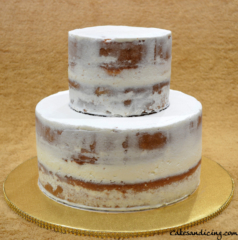 Wedding Cake Naked Theme Cake